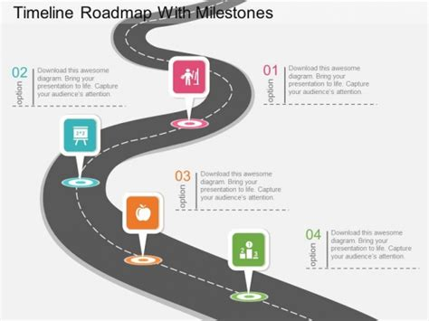 powerpoint milestone template timeline powerpoint templates slides and graphics