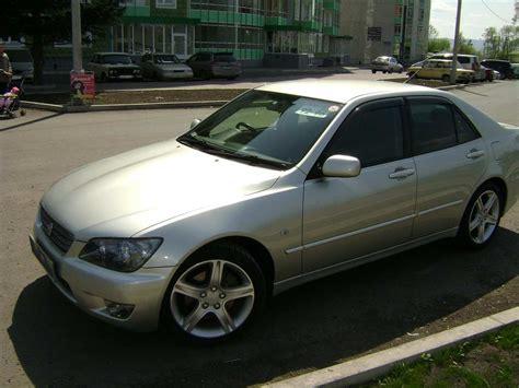 altezza car 2004 2004 toyota altezza pictures 2 0l gasoline fr or rr