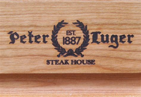 Peter Lugers Gift Card - peter luger cutting board
