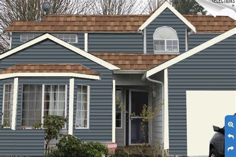 paint colors  houses  brown roofs google search