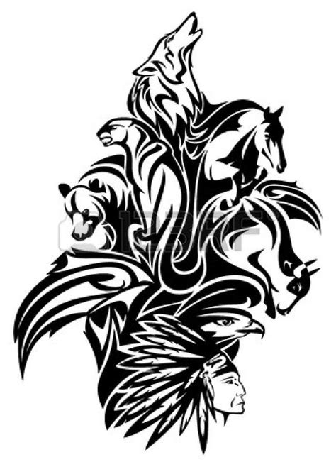 tribal chief tattoo 1000 images about graphics american on