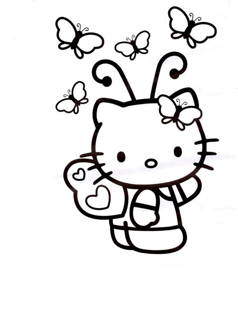 imprimir dibujos dibujos de hello kitty para imprimir hello kitty cartoon characters hello kitty pinterest