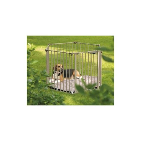 recinti per cani da interno park de luxe recinto cani in metallo regolabile anche