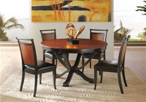 buy dining room set shop for a orland park black 5pc round dining room at
