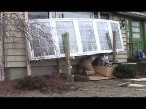 installing a bow window one man bow window installation 2013 youtube