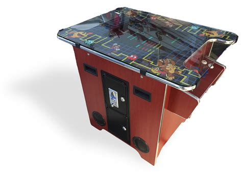 Arcade Cocktail Cabinet by Multicade Cocktail Classic Arcade Brown Cabinet