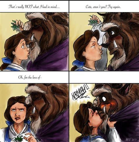 Beauty And The Beast Meme - beauty and the beast kiss meme by magna est veritas on