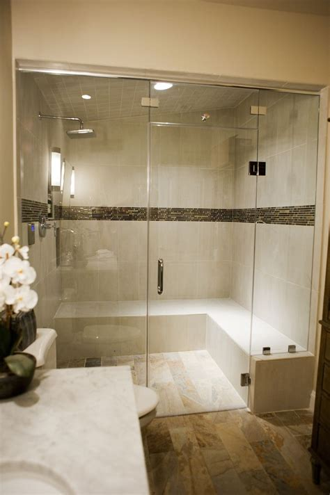 Bathroom Remodel With Steam Shower Home Is Where The Steam Shower Bathroom Designs