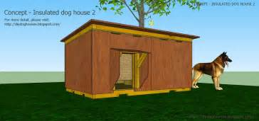 Dog house plans concept insulated 2