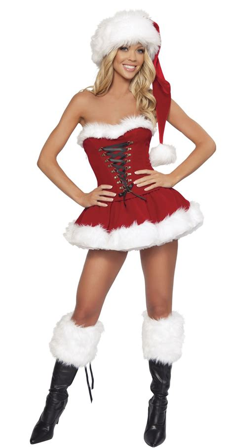 sexy xmas skirts j santa corset and skirt set monstermarketplace santa claus pinup