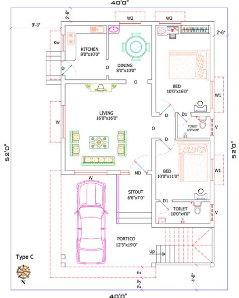 1200 sq ft house plans 4 bedroom house designs home decor ideas