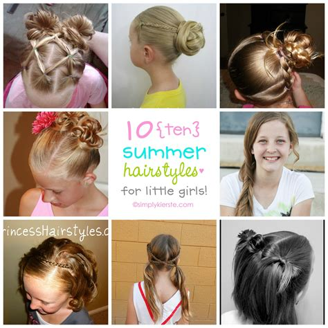 10 Fun Summer Hairstyles For Little Girls Simplykierste Com