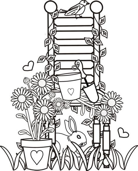 imagenes para colorear jardin 33 dessins de coloriage jardin 224 imprimer sur laguerche