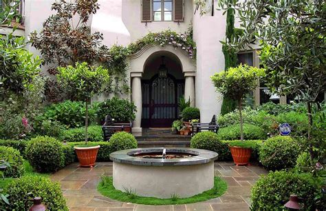tuscan backyard tuscan garden design