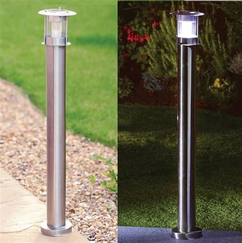 Solar Light Posts For Driveways New Post Light 90cm Stainless Steel Patio Garden Driveway