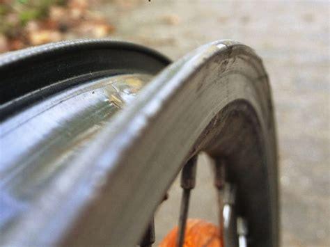 fahrrad felge wechseln kosten kollabiertes felgenhorn mit dem fahrrad zur arbeit