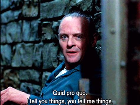themes in silence of the lambs film quid pro quo tumblr