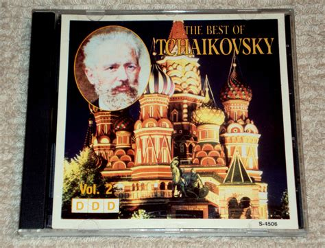 the best of tchaikovsky the best of tchaikovsky volume ii cd made in canada