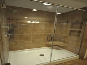tiled bathroom floors tile ready shower pans fiberglass