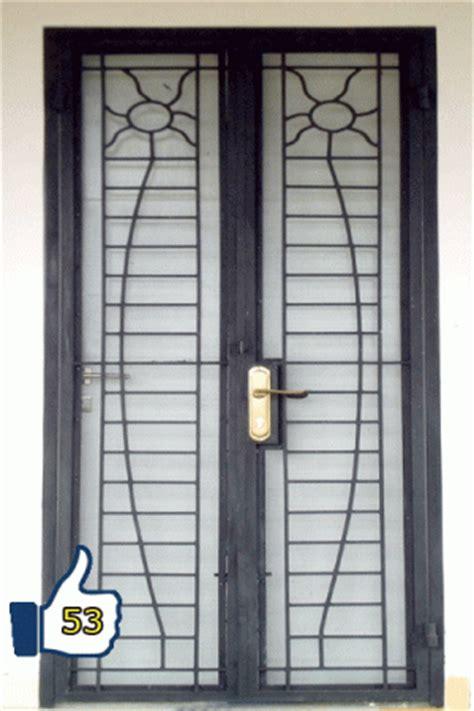 pintu besi pintu garasi besi besi alam sakti