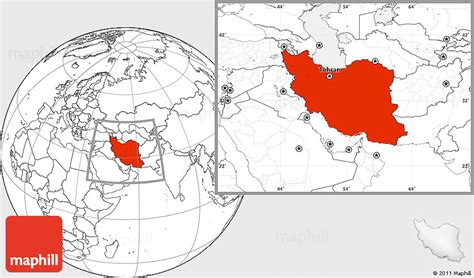 location of iran on world map the middle east proprofs quiz
