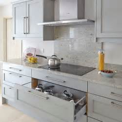 kitchen splashback ideas uk a grey paint for your kitchen kitchen sourcebook