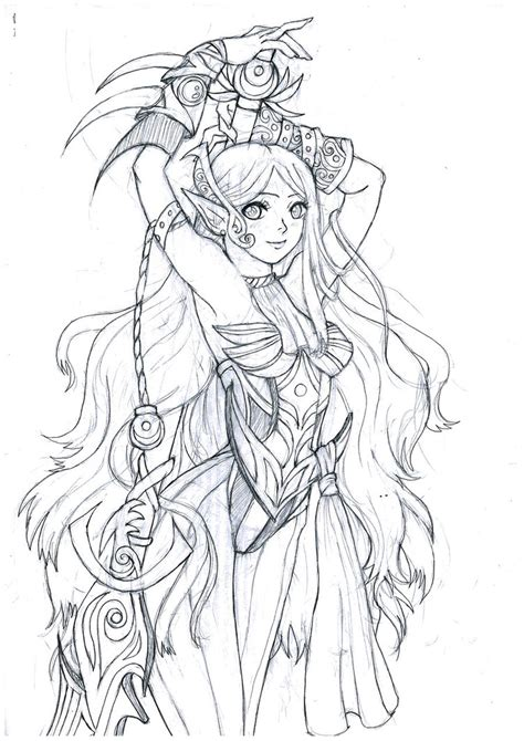 forest elf coloring pages forest elf scrap by sarasenia on deviantart