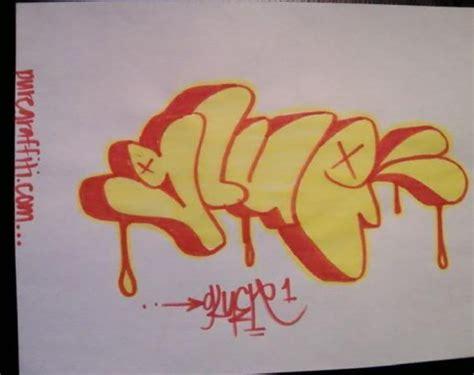 throwup graffiti font style