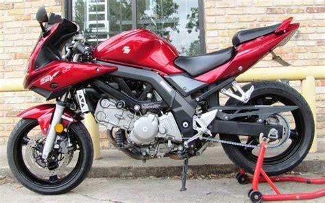 Suzuki Sport Motorcycle 2007 Suzuki Sv650s Used Bike Sport Bike Houston