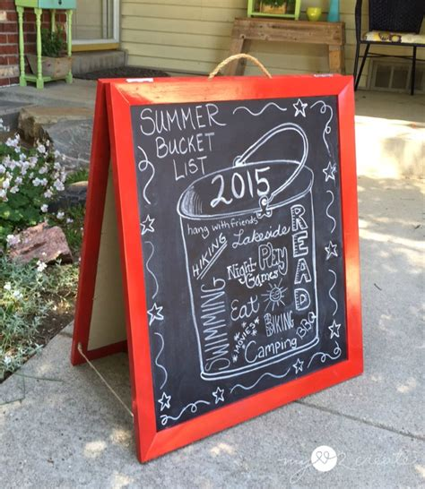diy chalkboard easels diy chalkboard easel made from picture frames my 2