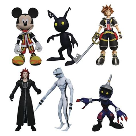 figure kingdom kingdom hearts select figure series 1 set