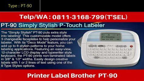 Printer Pt 1090 0811 3168 799 printer label pt 1090