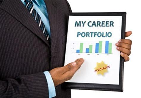 Resume Portfolio Definition Career Portfolio Template Guide For Com2301