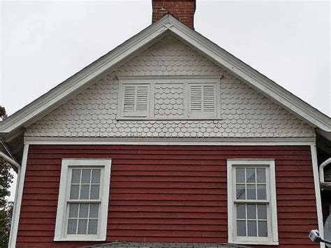 decorative gable trim iron mistakes using fancy cut decorative shingles oldhouseguy