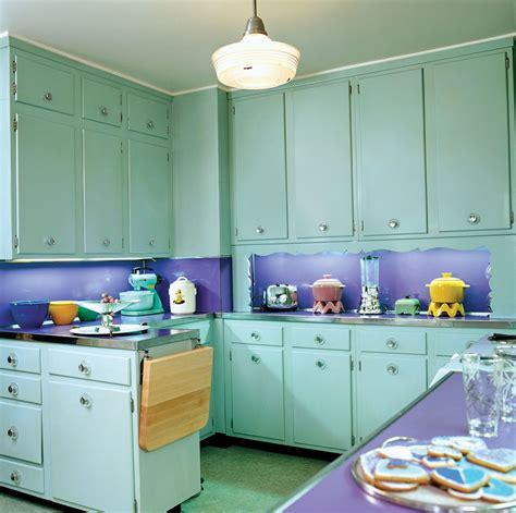 1950s kitchen restoration design for the vintage house
