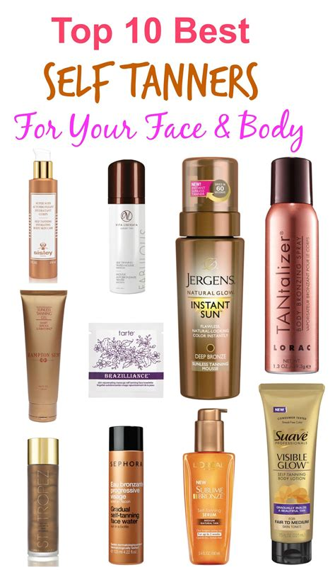12 Best Self Tanners by Best Home