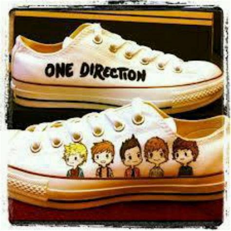 diy one direction shoes diy one direction chucks heels i