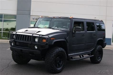 how make cars 2004 hummer h2 electronic valve timing 2004 hummer h2 suv all wheel drive rhino line x big tires lifted