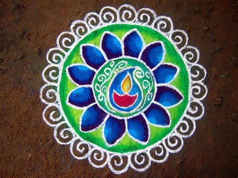 Ugadi Decorations At Home by Special Rangoli Designs For Ugadi Boldsky Com