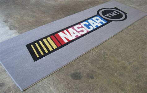 nascar rug logo rugs tradeshow logos corporate logos custom logo rugs