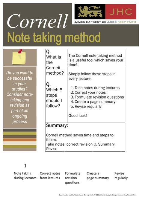 pattern note making method note making