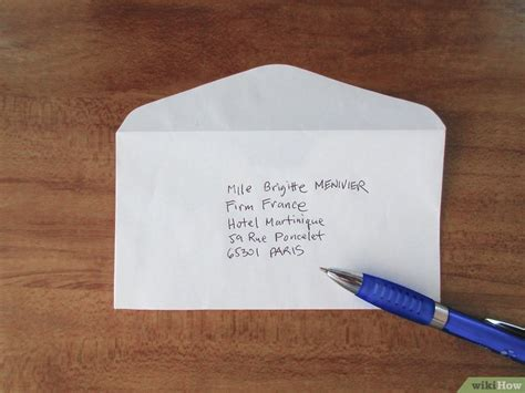 come scrivere l indirizzo di una lettera per la francia