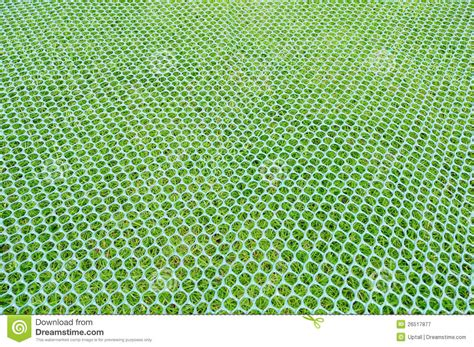 Mock Mat by Mock Skiing Mat On Grass Royalty Free Stock Photography