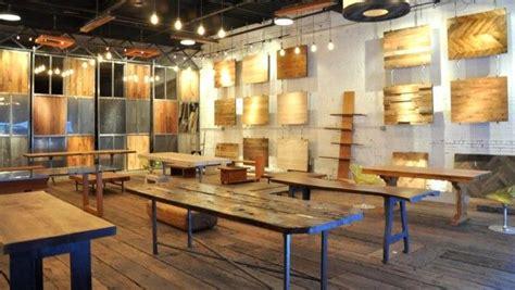 reclaimed furniture design at jupiter showroom new