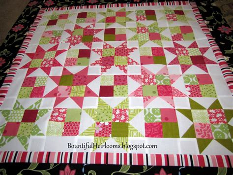Easy Quilt Patterns Using 5 Inch Squares Here Is The Result Which Is About 32 Inches Square 5 Inch Square Quilt Template
