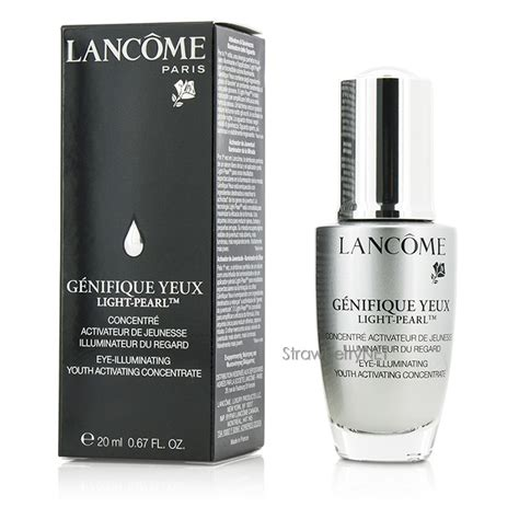 how to apply lancome genifique yeux light pearl lancome genifique yeux light pearl eye illuminating youth