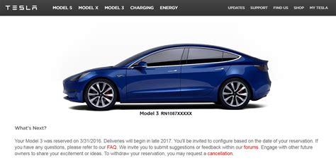 Tesla Car Website Tesla Model 3 Faq Answered
