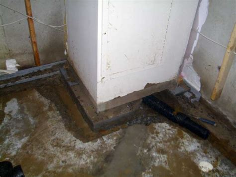 interior basement waterproofing stops leaks inside basement waterproofing systems