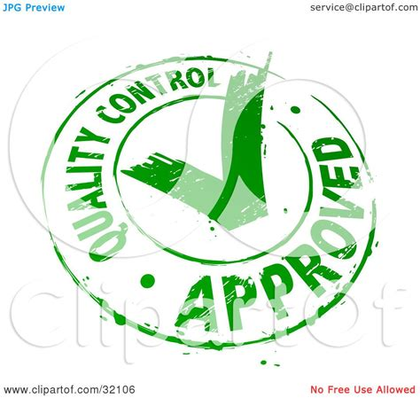 quality clipart clipart illustration of a quality approved st