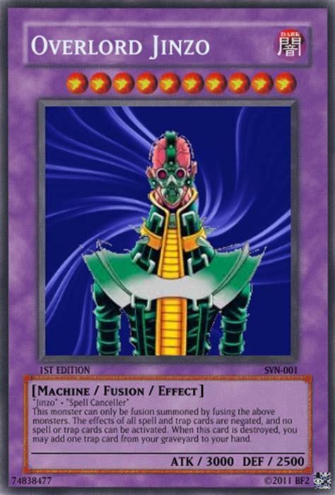New Hero Structure Deck by Overlord Jinzo Yu Gi Oh Card Maker Wiki Fandom Powered